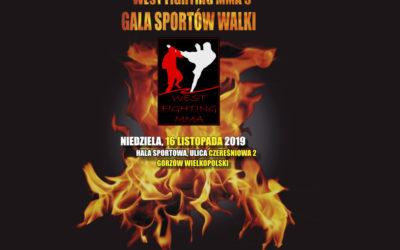 Nowy termin Gali Sportów Walki – West Fighting MMA 5