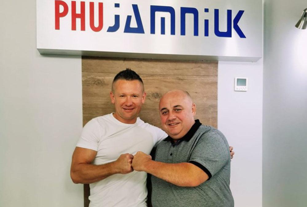 Główny sponsor Gali Sportów Walki w 5 edycji – PHU Jamniuk